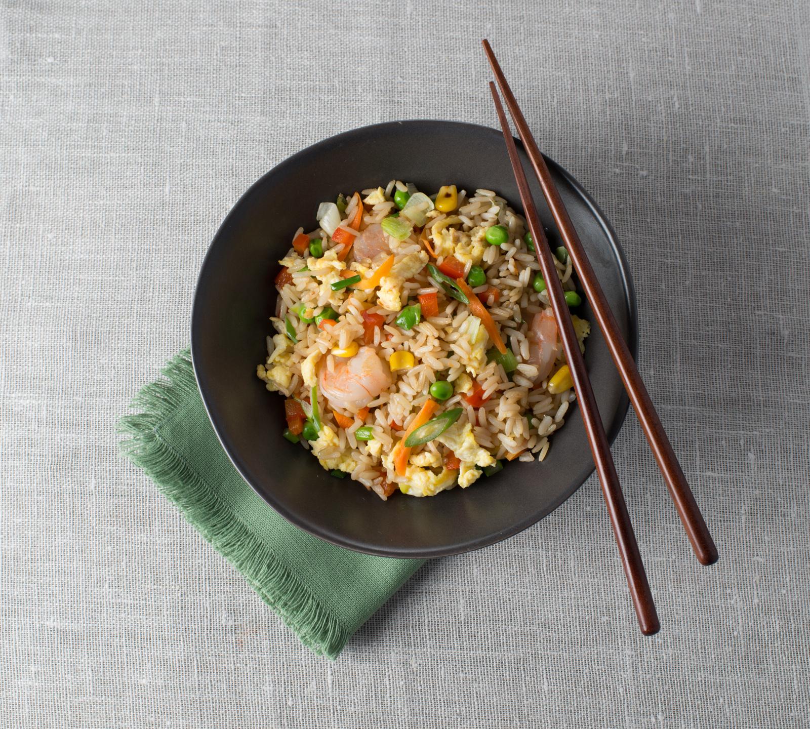 Egg & Shrimp Fried Rice Recipe