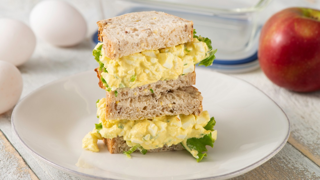 Egg Salad Recipe With Just Mayo And Mustard